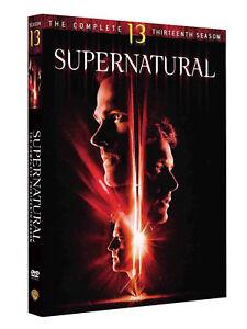 Supernatural Season 13 DVD BOX SET BRAND NEW & Sealed Fast & Free Post