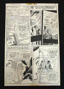 Curt Swan Wonder Woman Original Art Issue #214 DC Bronze Age Green Lantern
