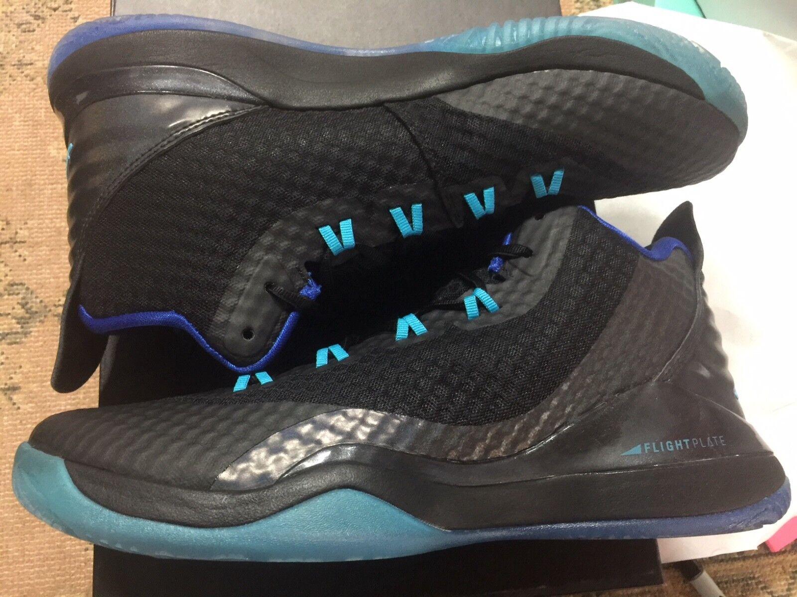 various colors 358d3 33263 Nueva Nike Air Jordan Superfly 3 PO negro negro negro turquesa azul rey  talla 10 comodo