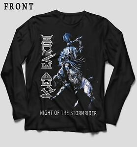Image is loading ICED-EARTH-Night-of-the-Stormrider-Black-T- 5362f32929
