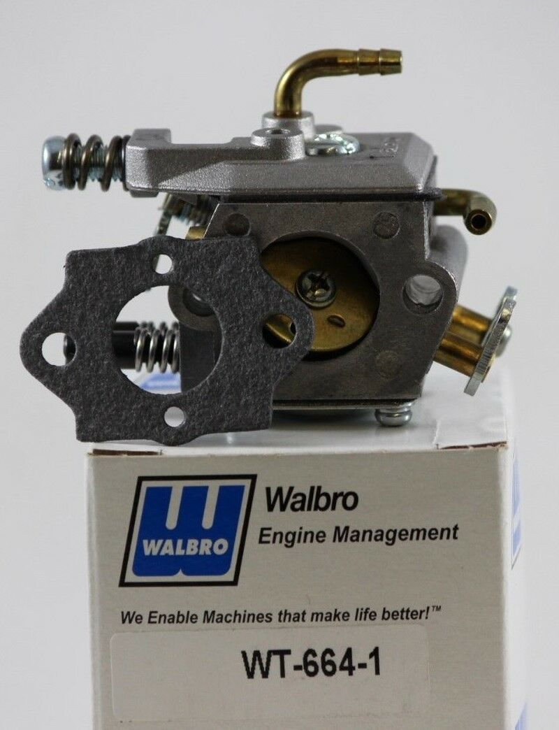 WT-664-1 WALBRO CARBURETOR FOR RC AIRPLANES DLE55 40cc-55cc & DLA56 W GASKET