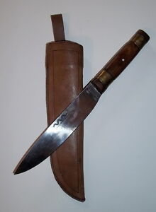 Details about Bent's Fort Scalping Knife w/Sheath -