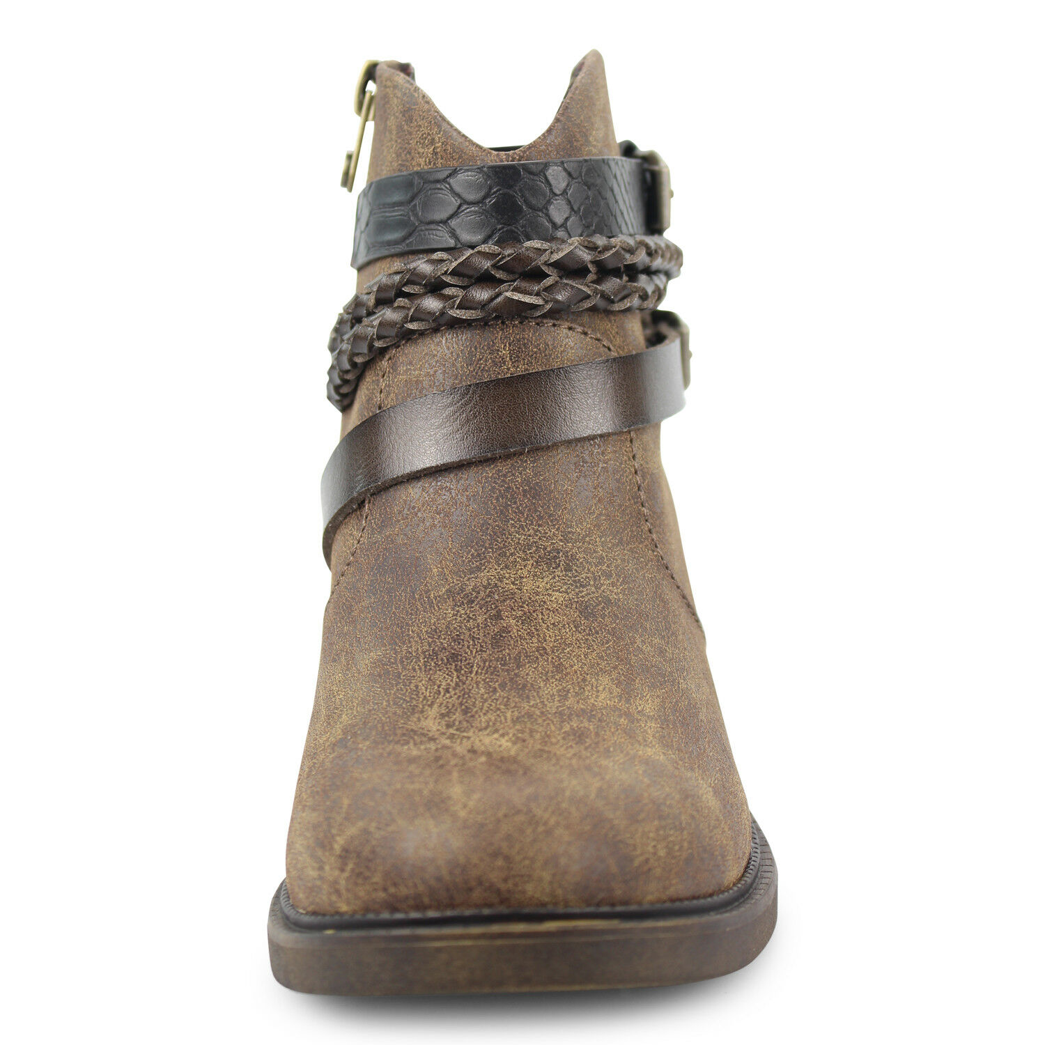 Blowfish Stiefel Malibu Damenschuhe Vianna Ankle Stiefel Blowfish Side Zip Up Niedrig Heel Fashion Schuhes 122764