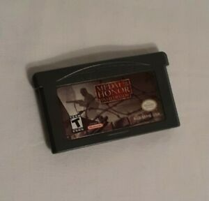 Medal of Honor: Infiltrator (Nintendo Game Boy Advance, 2003) Tested