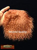 M01109 Morezmore Tibetan Lamb Fur Copper Auburn Seconds Doll Baby Hair Wig A60
