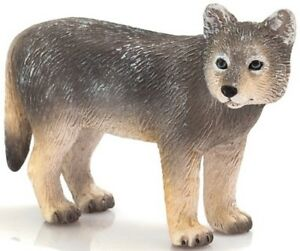Mojo 387244 Timber Wolf Chiot 6 cm Animaux Sauvages  </span>