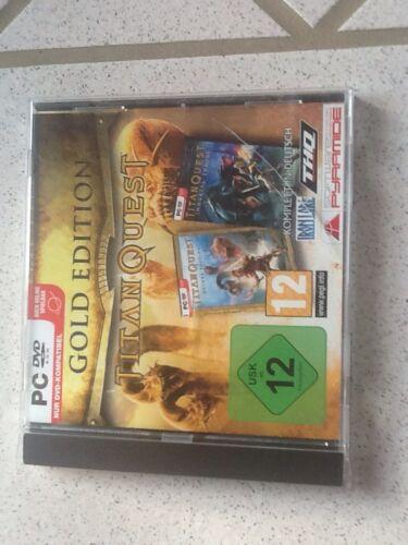 1 von 1 - Titan Quest - Gold Edition (PC, 2007, DVD-Box)