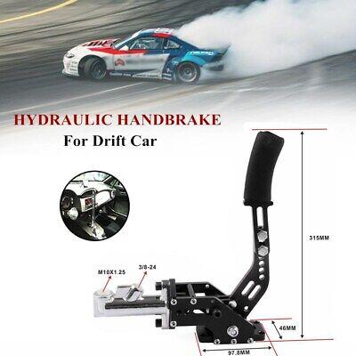 PQYRACING Aluminum Car Hydraulic Drift Rally Handbrake Oil Tank for Fluid Reservoir E-Brake