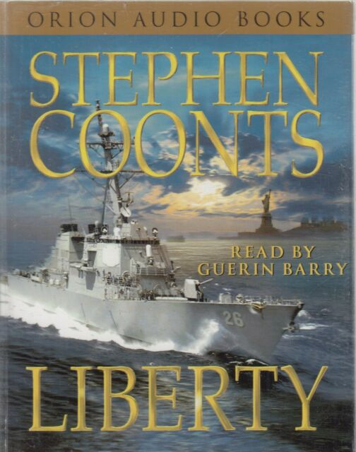 Stephen Coonts Liberty 4 Cassette Audio Book Abridged Jake Grafton 10 Thriller