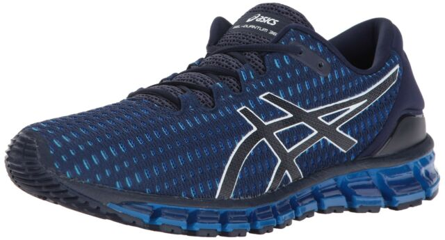 ASICS Mens Gel Quantum 360 Shift Running Shoe PeacoatWhiteDirectoire Blue 1