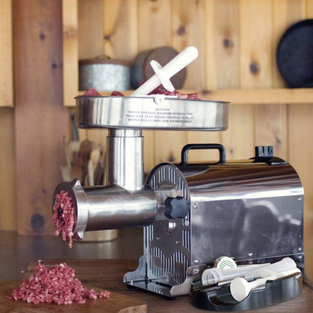 Weston 08 2201 W Number 22 Commercial Meat Grinder 1 Hp For Sale Ebay