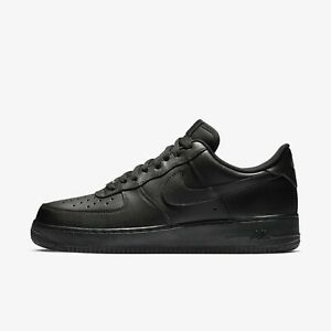 Nike-Air-Force-1-039-07-Shoes-Men-039-s-Sneakers-Low-Black-Black-315122-001-US-7-12