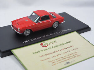 Esval-Models-1961-Cisitalia-df85-Coupe-by-Fissore-Red-Limited-Edition-1-43