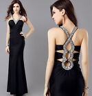 Women Sexy Long Evening Party Formal Cocktail Gown Ball Prom Bridesmaid Dress