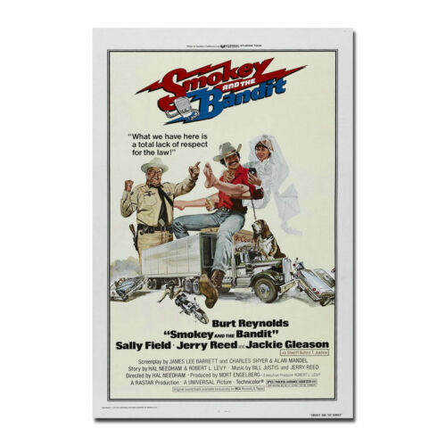 Smokey And The Bandit Movie Art Silk Poster Print 12x18 32x48 inches 001