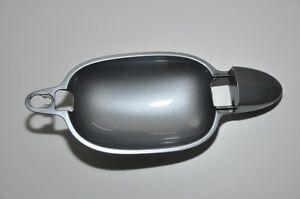 Org-Bmw-E60-E61-5er-Manija-de-Puerta-Mango-Exterior-Derecho-Plata-Gris-Metalico