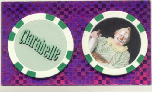 CLARABELLE  THE CLOWN  FROM HOWDY DOODY SHOW*  COLLECTOR CHIP