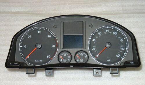 2004-2009 Skoda Octavia INSTRUMENT CLUSTER Compteur de vitesse Horloges 1Z0920942D