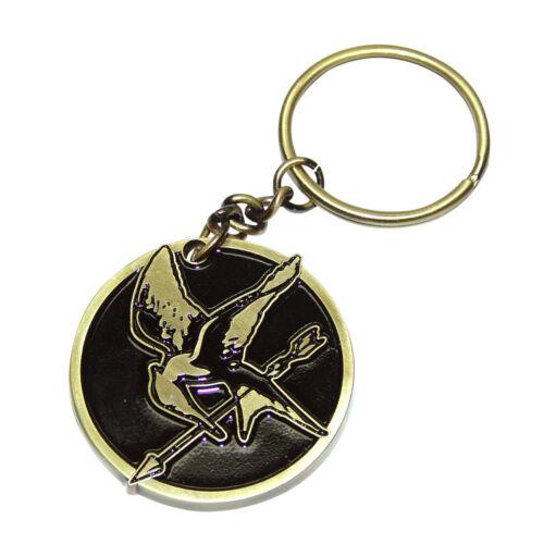 The Hunger Games Mockingbird Metal Keychain