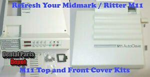 Midmark-M11-Replacement-Top-and-Door-Cover-Kits-Red-Display-MIK195-and-MIK197