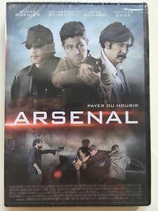 Arsenal-DVD-NEUF-SOUS-BLISTER-Nicolas-Cage-John-Cusack
