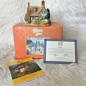 1997-Memorias-Lilliput-Lane-Oro-L2139-con-caja-y-certificado-de-autenticidad