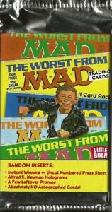 THE-WORST-FROM-MAD-TRADING-CARDS-SINGLE-SEALED-PACKS-LIME-ROCK-1992