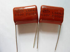 0.56uf, 560nf 63V  5/%  polyester film capacitors 12pc .56uf