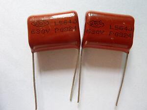 5PCS-CBB21-564J-630V-0-56UF-560NF-P20-Metallized-Film-Capacitor
