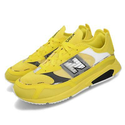 new balance xracer yellow grey white black men casual