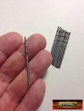 M01106 MOREZMORE 10 Mini Micro 1.5 mm HSS Twist Drill Bits Wood Clay Plastic A60