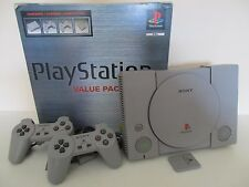 CONSOLE SONY PLAYSTATION PS1 PSX VALUE PACK - Version PAL SONY SCPH-5552 COMPLET
