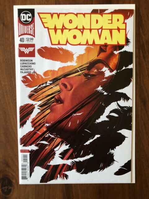 Wonder Woman #40 DC Comics Variant 2018 Jenny Frison Cover NM