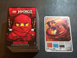 *** Lego Ninjago Masters of Spinjitzu Wave 2 Trading Cards 2012 ***