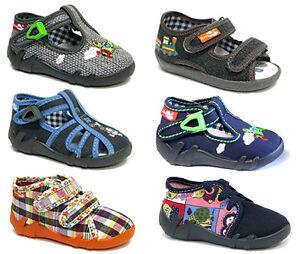 BOYS-SANDALS-Children-Kids-Toddler-Infant-Casual-Canvas-Shoes-Fasten