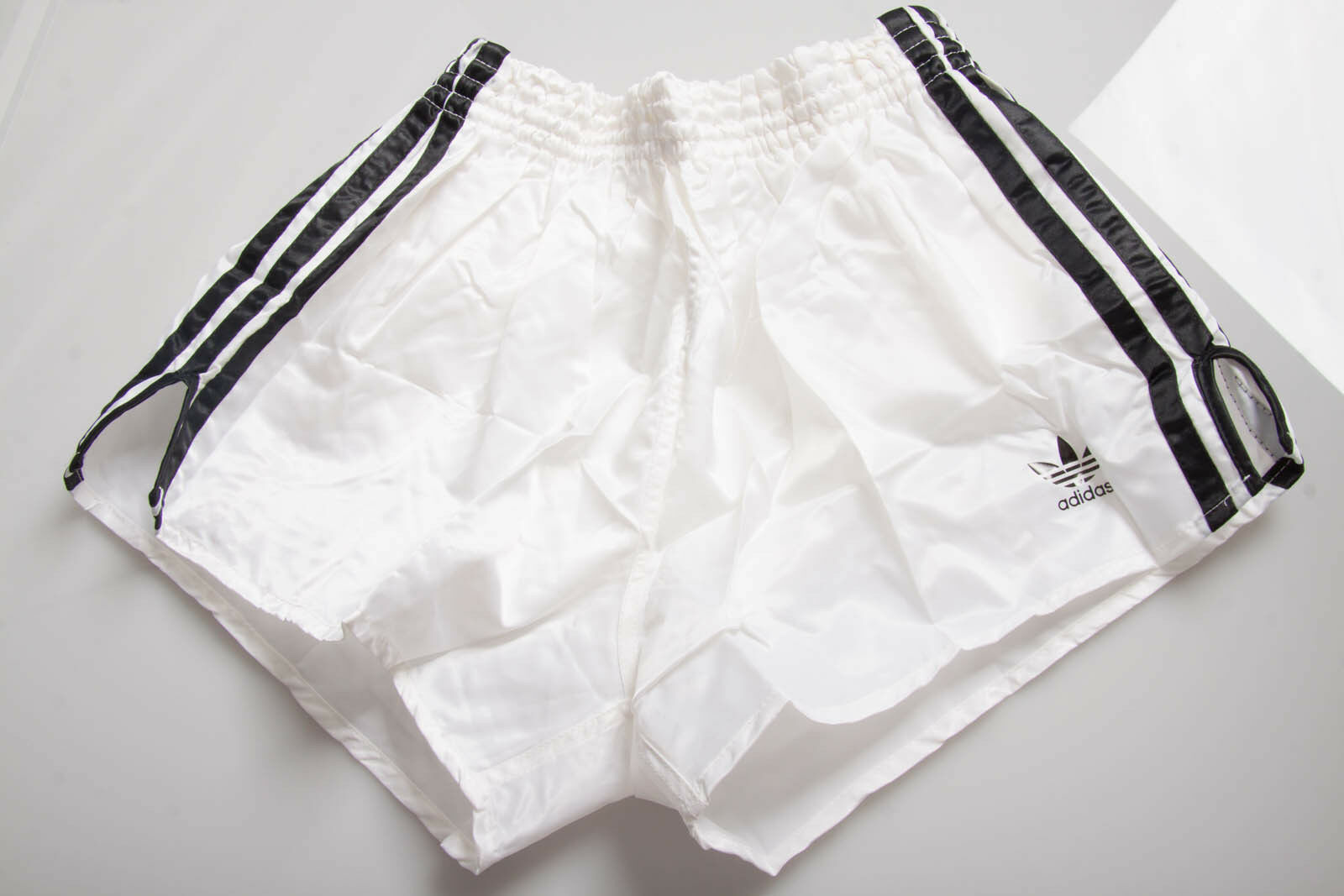 Vintage ADIDAS GLANZ shiny shorts short D5 M