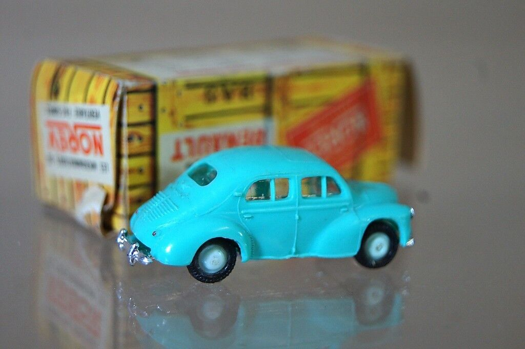 NOREV No 7 HO 1 86 SCALE RENAULT 4 CV 750 SEDAN GREEN MINT BOXED my
