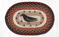 Primitive Country Rustic Crow & Stars 100% Natural Placemat