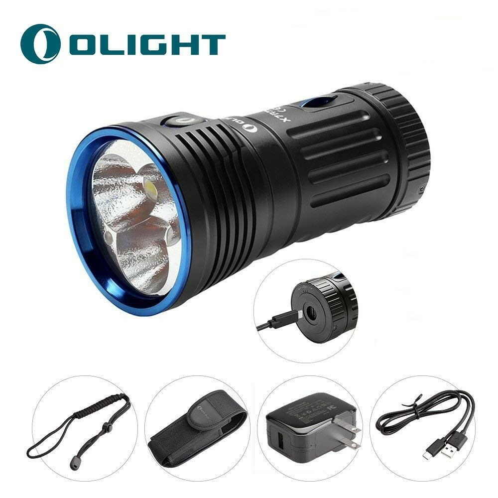 Olight X7R  Marauder 12000 Lumen 3x Cree XHP70 LED Rechargeable Search Flashlight  authentic online