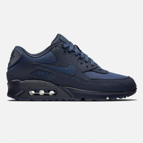 Size 9 - Nike Air Max 90 Essential Midnight Navy - 537384-412 for ...