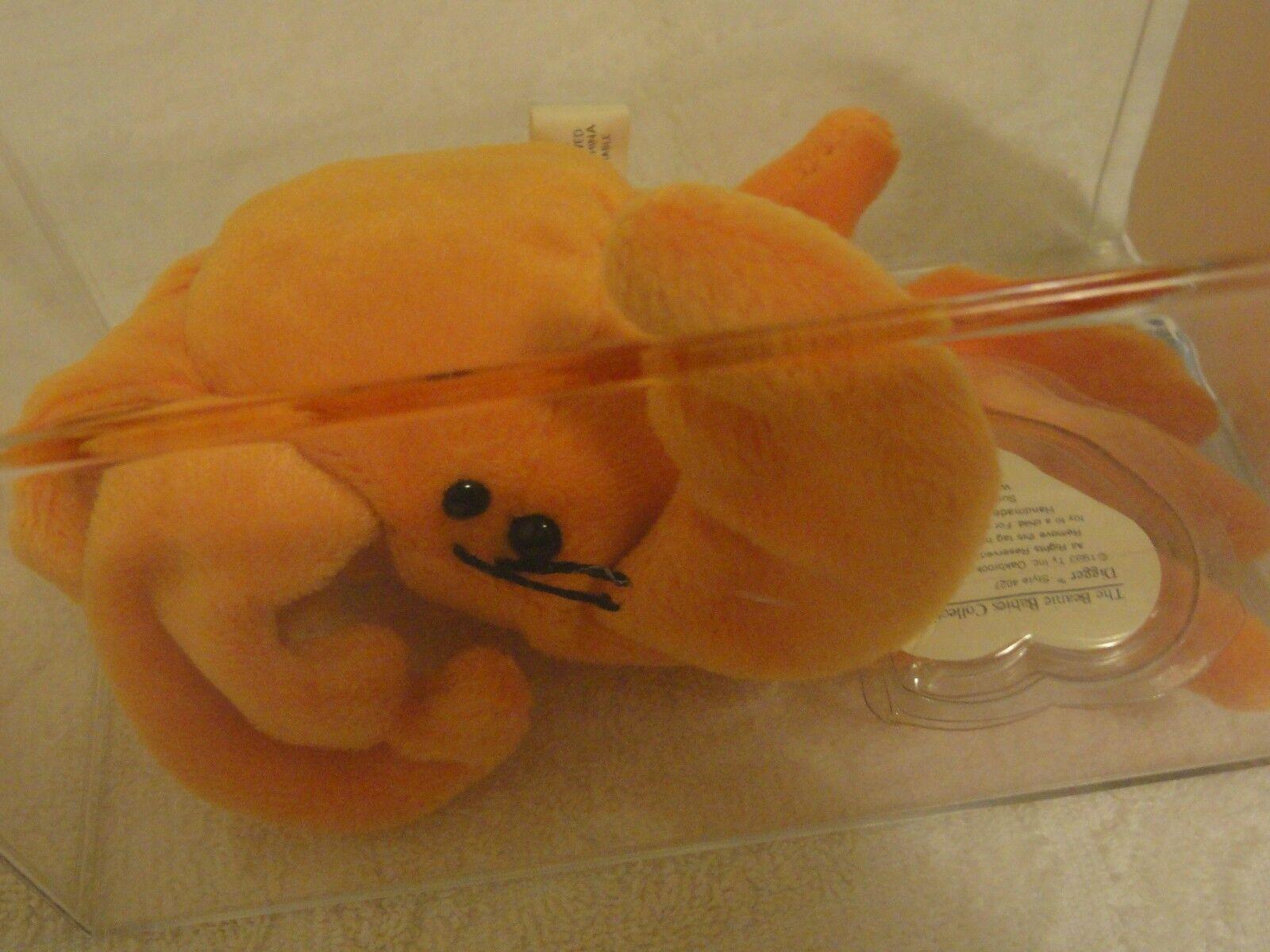 Beim ty beanie baby ist gen - Orange, digger extrem selten tags - mwct-mq
