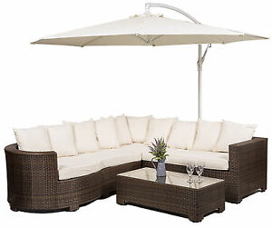 image is loading marbella rattan corner sofa set outdoor garden furniture