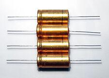 4 pcs 2200uF 25V ROE Roederstein EG 85° Hi End axial electrolytic capacitor