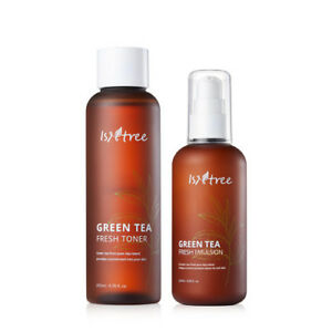 ISNTREE-Green-Tea-Fresh-Toner-200ml-amp-Green-Tea-Fresh-Emulsion-120ml