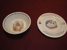 Peter Rabbit Wedgewood Bowl and Saucer