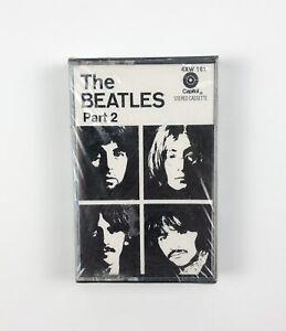 The Beatles Part 2 Vintage Cassette Tape Capitol Records - NEW