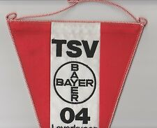 BAYER LEVERKUSEN GERMANY ORIGINAL XLARGE 1990'S PENNANT VERY GOOD CONDITION