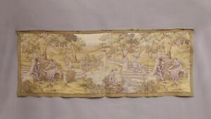 Antique-French-Aubusson-Style-Wall-Hanging-Tapestry-175X70cm-Vintage-Style