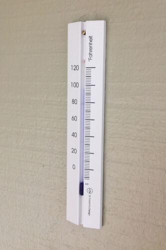 Analog Wall Thermomètre Fahrenheit Scale Hêtre Bois 7.9 in en 5 finitions environ 20.07 cm