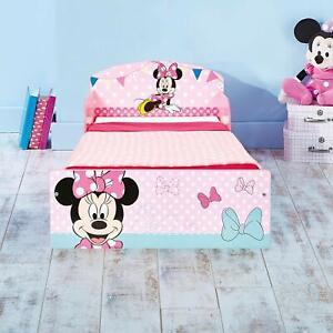 Letto Singolo Per Bambina.Dettagli Su Letto Singolo Bambina Cameretta Lettino Cameretta Disney Minnie Con 2 Omaggi